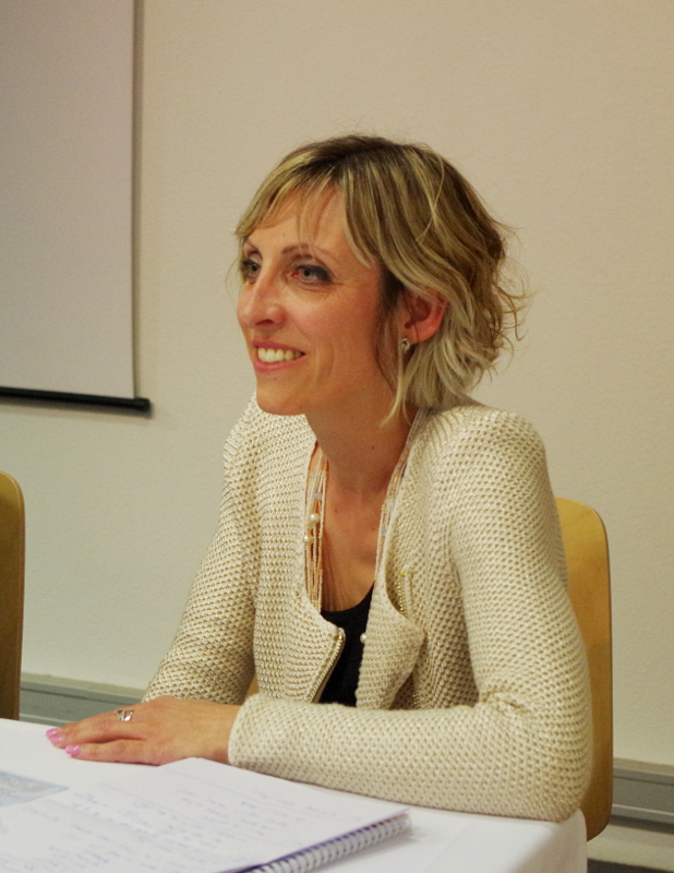 Hélène Vonner, professeur d'italien