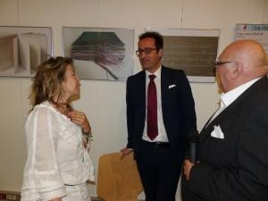 Simonetta Greggio, le Consul Bellantone et Alphonse Romano
