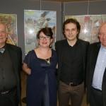 Metz'a voce et Oreste Sacchelli à droite